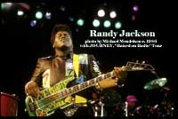 Randy Jackson of Journey